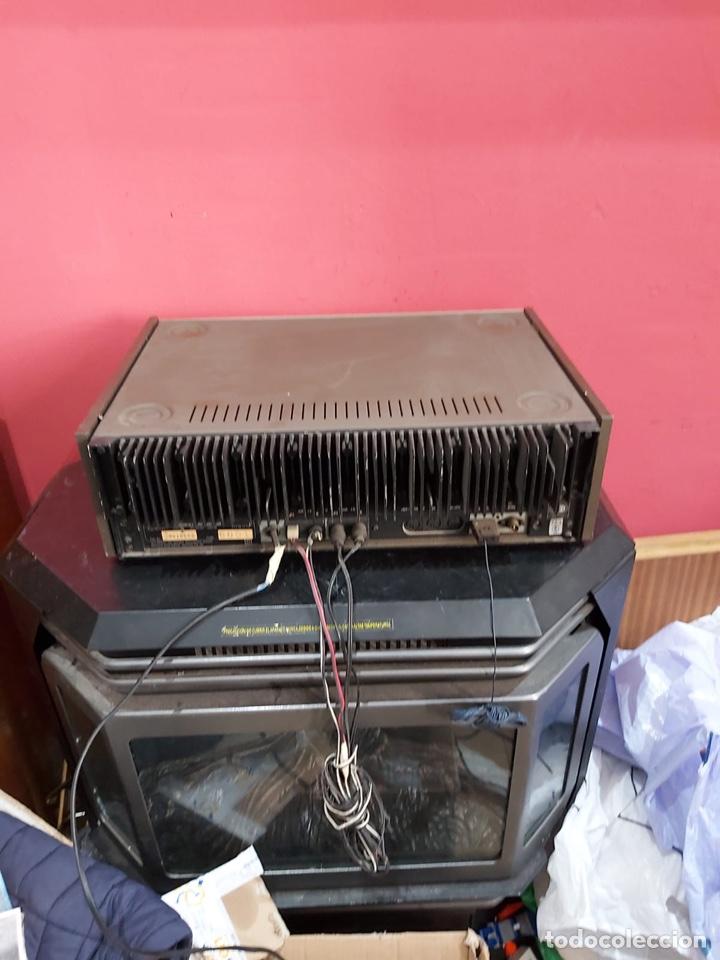 Radios antiguas: AMPLIFICADOR-SINTONIZADOR SIEMENS RS 555 ....MUY RARO . Funciona. Ver el peso y las medidas en fotos - Foto 8 - 219917508