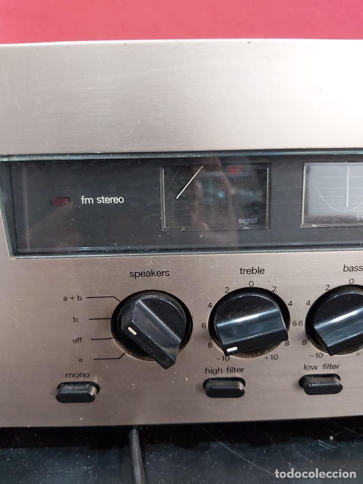 Radios antiguas: AMPLIFICADOR-SINTONIZADOR SIEMENS RS 555 ....MUY RARO . Funciona. Ver el peso y las medidas en fotos - Foto 10 - 219917508