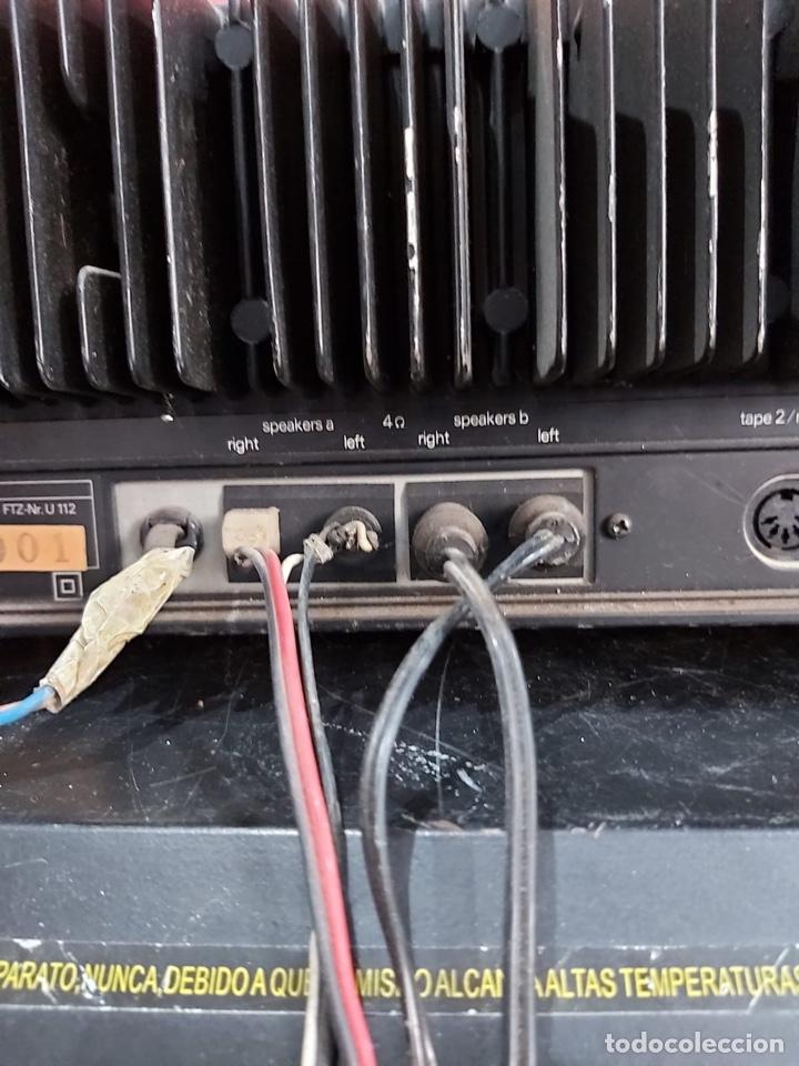 Radios antiguas: AMPLIFICADOR-SINTONIZADOR SIEMENS RS 555 ....MUY RARO . Funciona. Ver el peso y las medidas en fotos - Foto 11 - 219917508
