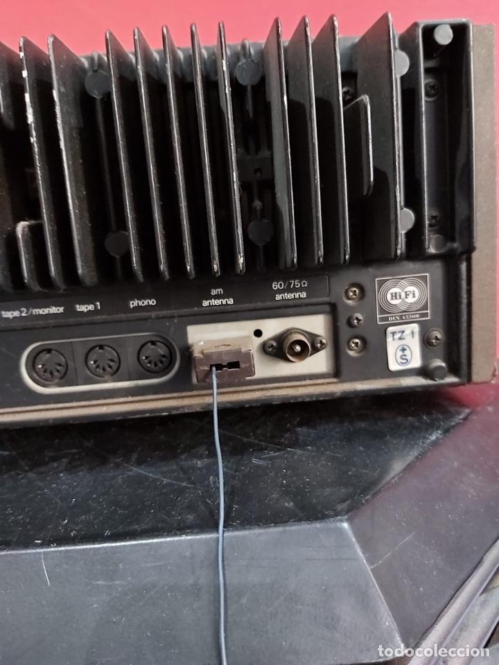 Radios antiguas: AMPLIFICADOR-SINTONIZADOR SIEMENS RS 555 ....MUY RARO . Funciona. Ver el peso y las medidas en fotos - Foto 12 - 219917508