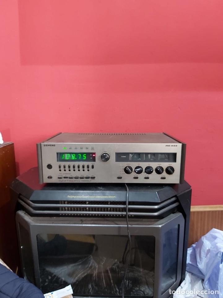 AMPLIFICADOR-SINTONIZADOR SIEMENS RS 555 ....MUY RARO . FUNCIONA. VER EL PESO Y LAS MEDIDAS EN FOTOS (Radios, Gramófonos, Grabadoras y Otros - Amplificadores y Micrófonos de Válvulas)