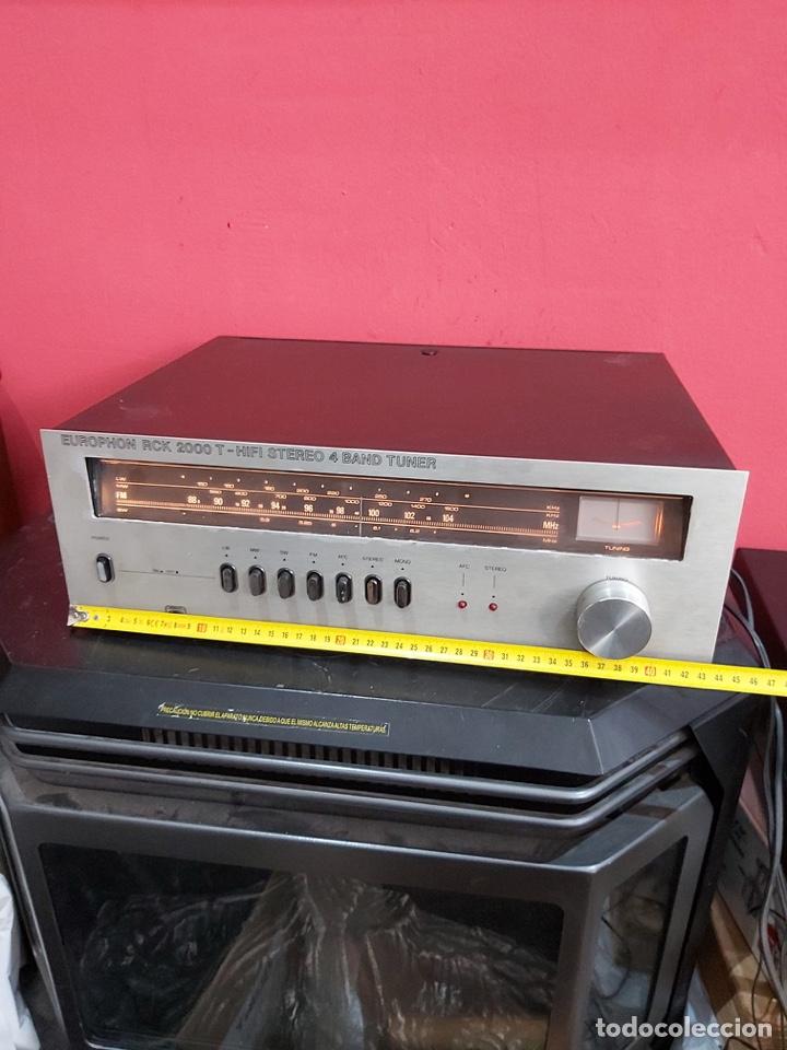Radios antiguas: amplificador platina cassette europhon rck 2000. Ver las imágenes - Foto 5 - 221333233