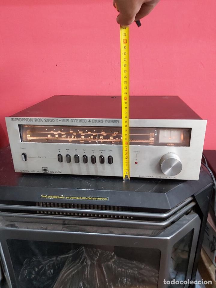 Radios antiguas: amplificador platina cassette europhon rck 2000. Ver las imágenes - Foto 6 - 221333233