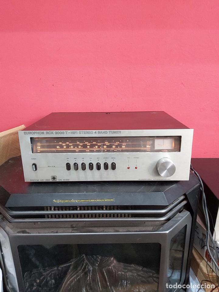 Radios antiguas: amplificador platina cassette europhon rck 2000. Ver las imágenes - Foto 7 - 221333233