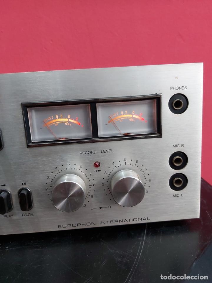 Radios antiguas: amplificador platina cassette europhon rck 2000. Ver las imágenes - Foto 15 - 221333233