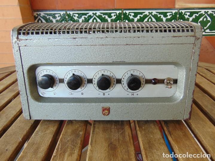 RESERVADO AMPLIFICADOR DE VÁLVULAS DE LA MARCA PHILIPS MODELO 6400/IE NO ESTA PROBADO (Radios, Gramófonos, Grabadoras y Otros - Amplificadores y Micrófonos de Válvulas)