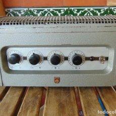 Rádios antigos: RESERVADO AMPLIFICADOR DE VÁLVULAS DE LA MARCA PHILIPS MODELO 6400/IE NO ESTA PROBADO. Lote 221680601