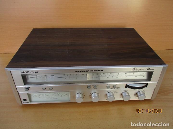 RECEIBER AMPLIFICADOR MARANTZ SR1000 LEER DESCRIPCION Y VER FOTOS (Radios, Gramófonos, Grabadoras y Otros - Amplificadores y Micrófonos de Válvulas)