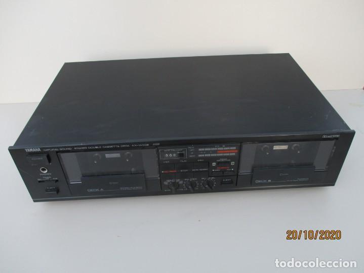 YAMAHA DOBLE PLETINA MODELO: KXV-202 NECESITA GOMAS NUEVAS Y LIMPIEZA DE ZONA DE POLEAS (Radios, Gramófonos, Grabadoras y Otros - Amplificadores y Micrófonos de Válvulas)