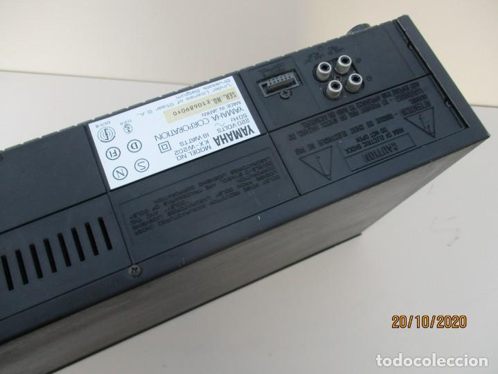Radios antiguas: Yamaha doble pletina modelo: KXV-202 necesita gomas nuevas y limpieza de zona de poleas - Foto 4 - 221687976