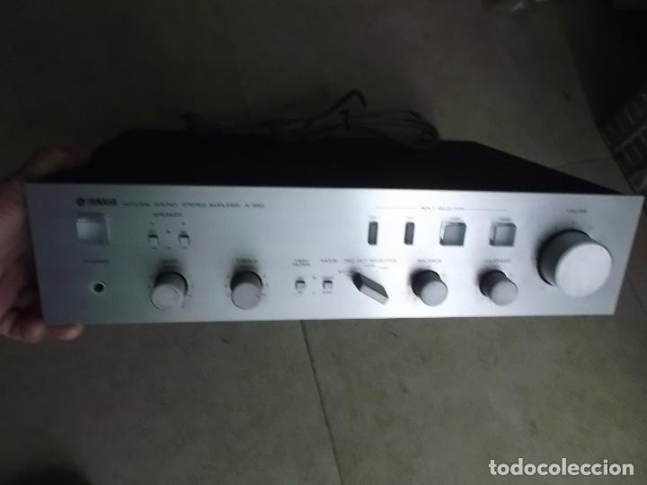 Radios antiguas: YAMAHA, AMPLIFICADOR, A 550, FUNCIONANDO, EXCELENTE, APARATO - Foto 8 - 221897656