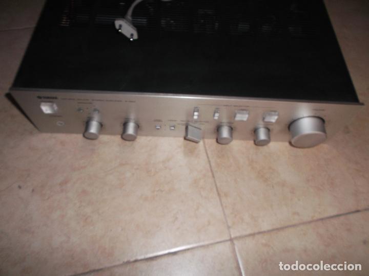 Radios antiguas: YAMAHA, AMPLIFICADOR, A 550, FUNCIONANDO, EXCELENTE, APARATO - Foto 9 - 221897656