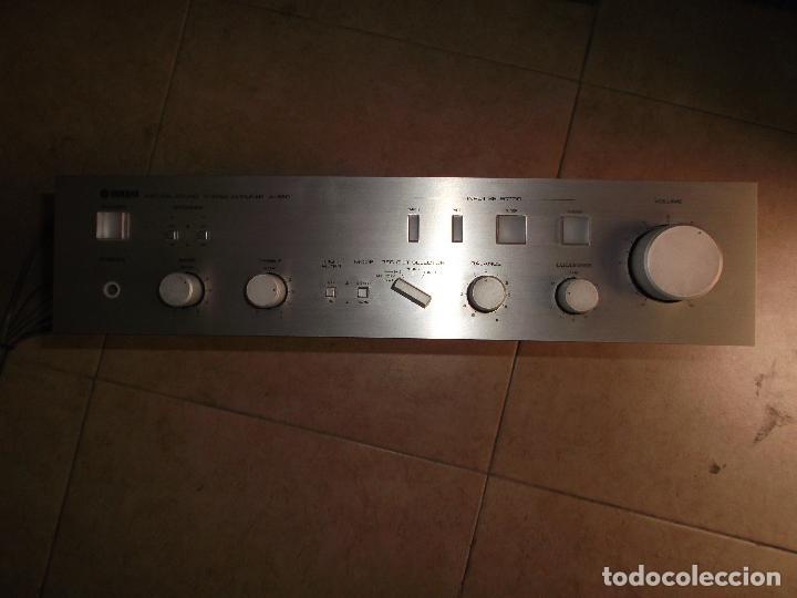 Radios antiguas: YAMAHA, AMPLIFICADOR, A 550, FUNCIONANDO, EXCELENTE, APARATO - Foto 12 - 221897656