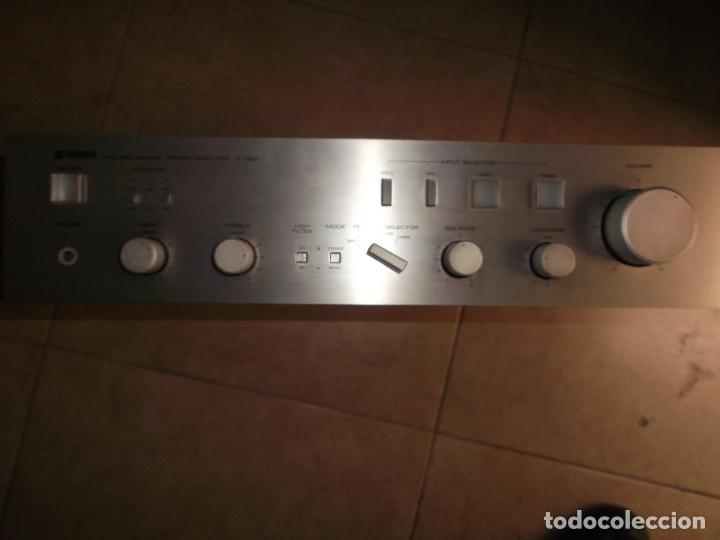 Radios antiguas: YAMAHA, AMPLIFICADOR, A 550, FUNCIONANDO, EXCELENTE, APARATO - Foto 18 - 221897656
