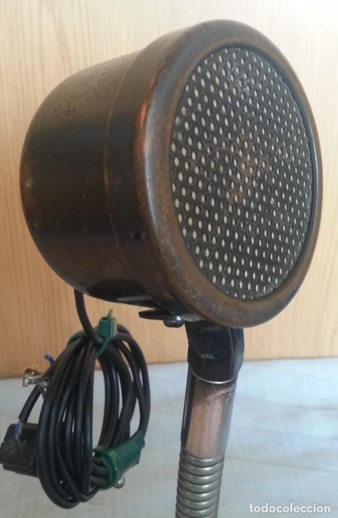 Radios antiguas: Micrófono antiguo. Años 30. Magnifica pieza de colección. - Foto 2 - 221921536