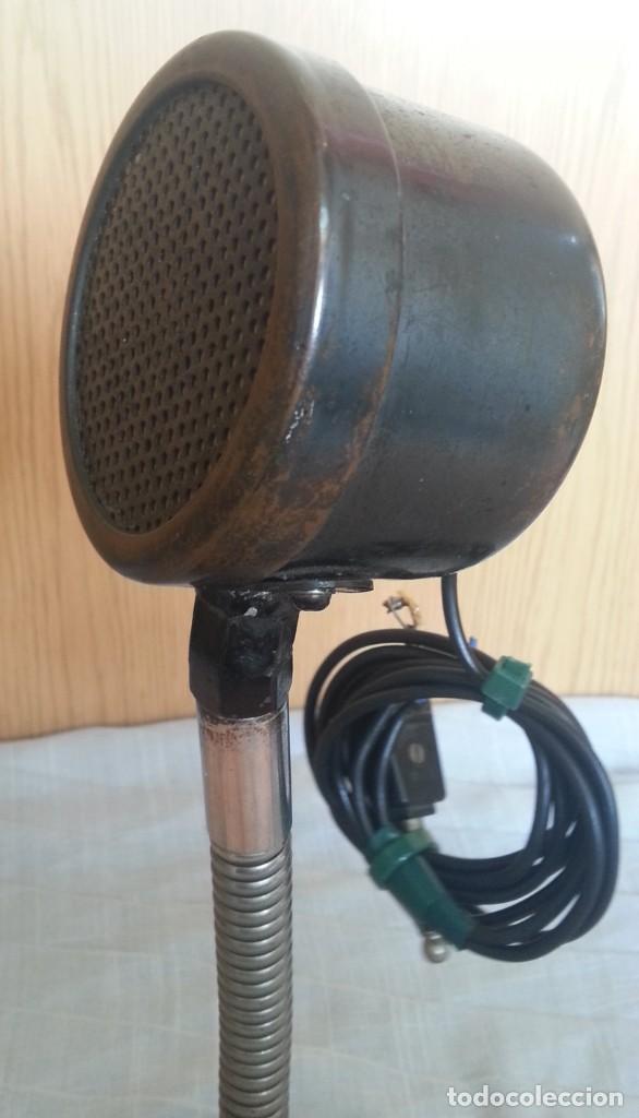 Radios antiguas: Micrófono antiguo. Años 30. Magnifica pieza de colección. - Foto 5 - 221921536
