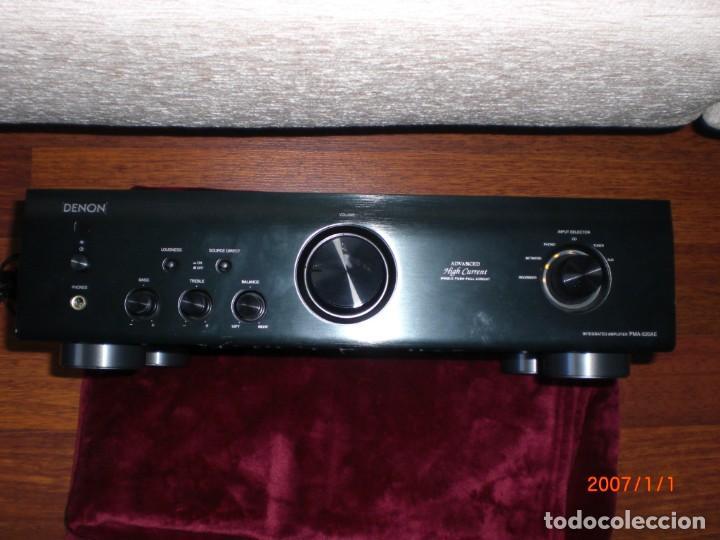 AMPLIFICADOR DENON PMA-520AE (Radios, Gramófonos, Grabadoras y Otros - Amplificadores y Micrófonos de Válvulas)