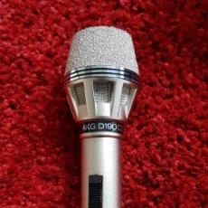 Radios antiguas: MICRÓFONO AKG D190 CS 200 CON CAJA SOPORTE Y CABLE DE CONEXIÓN MADE IN AUSTRIA. Lote 222985840