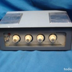 Radios Anciennes: AMPLIFICADOR A VÁLVULAS HI-FI ESTÉREO AÑOS 60 - FUNCIONA BIEN. Lote 223470505