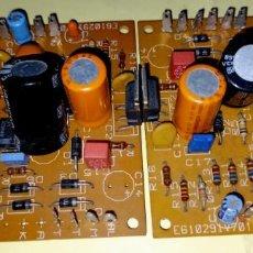 Radios antiguas: AMPLIFICADOR 30+30W RMS PREVIO Y TONOS MONTADO EN KIT NUEVO + REVISTA INSTRUCCIÓNES. Lote 224068567