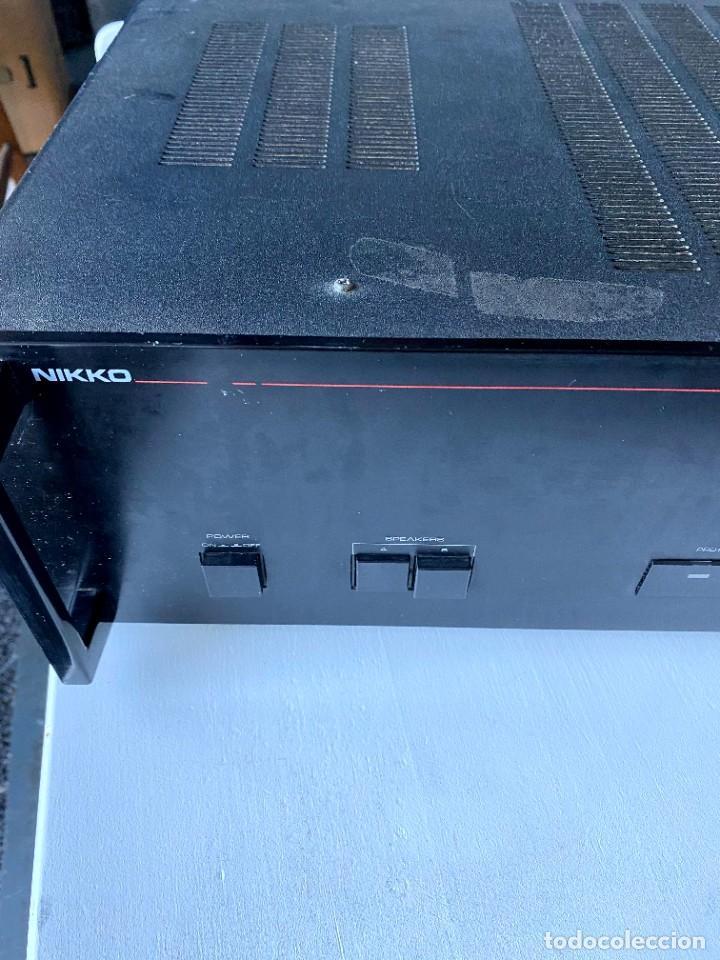 Radios antiguas: Nikko Alfa 130 Amplificador (Japón) - Foto 2 - 224449336