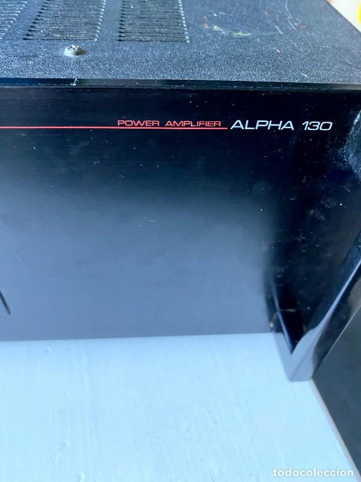 Radios antiguas: Nikko Alfa 130 Amplificador (Japón) - Foto 3 - 224449336