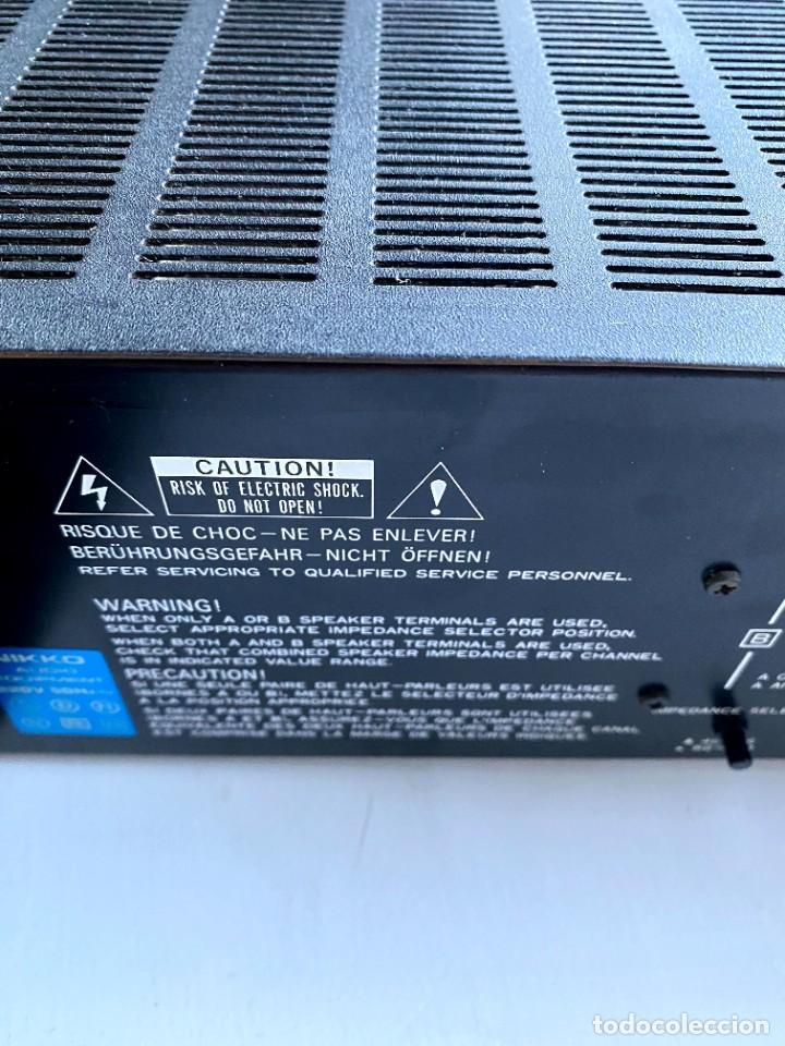 Radios antiguas: Nikko Alfa 130 Amplificador (Japón) - Foto 6 - 224449336