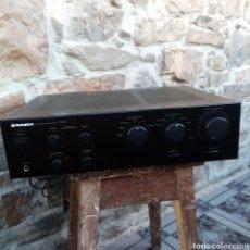 Rádios antigos: AMPLIFICADOR PIONEER A-401 - LEER DESCRIPCIÓN VER FOTOS. Lote 224874948