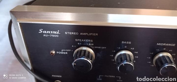 AMPLIFICADOR SANSUI (Radios, Gramófonos, Grabadoras y Otros - Amplificadores y Micrófonos de Válvulas)