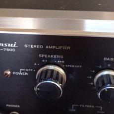 Rádios antigos: AMPLIFICADOR SANSUI. Lote 225304313