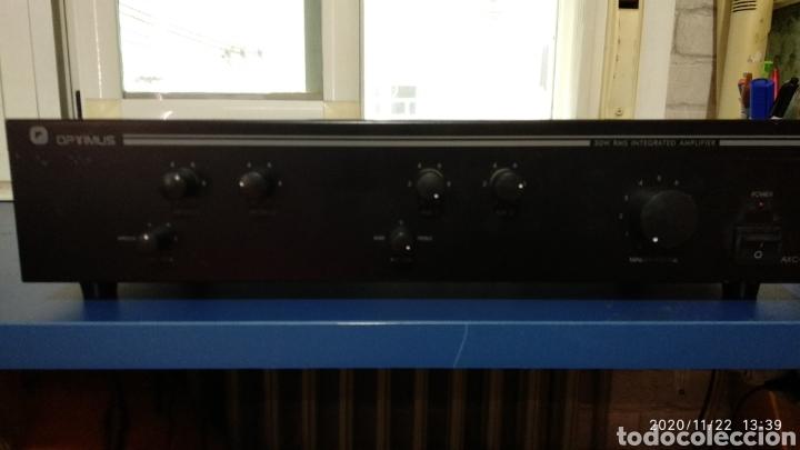 Radios antiguas: Amplificador Optimus axc-30 - Foto 7 - 226007167