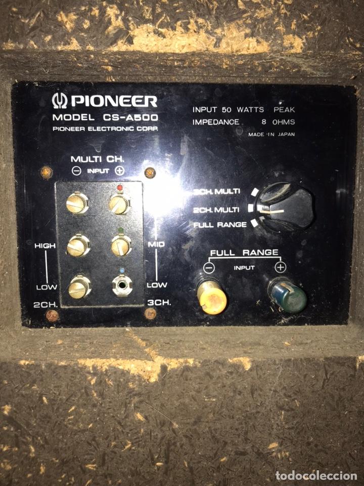 Radios antiguas: Altavoces Pionner cs-a500 - Foto 6 - 226110061