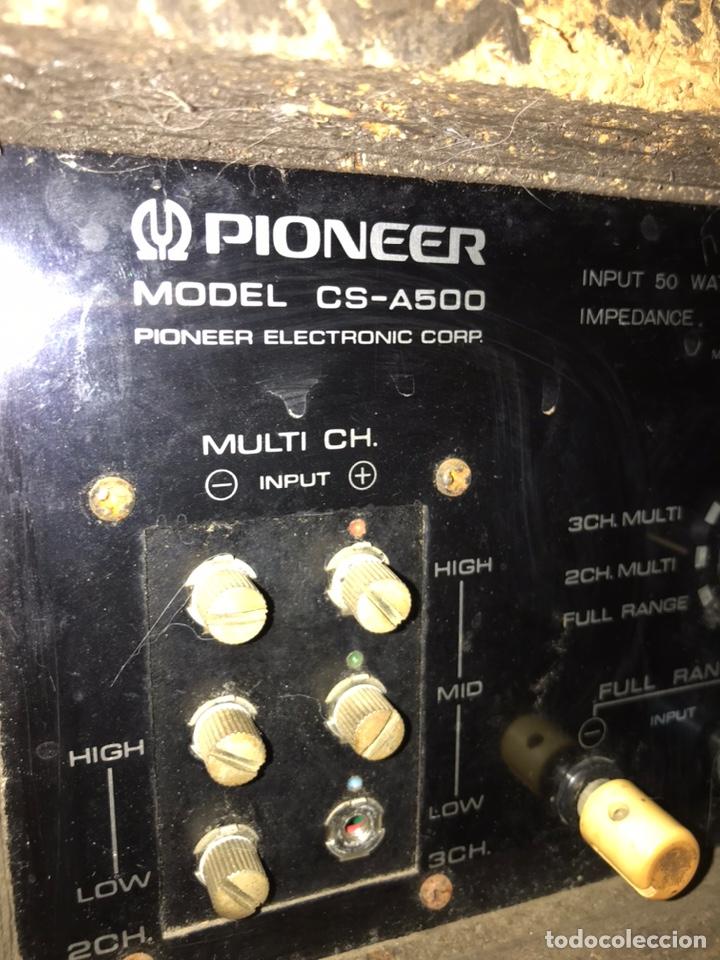 Radios antiguas: Altavoces Pionner cs-a500 - Foto 13 - 226110061