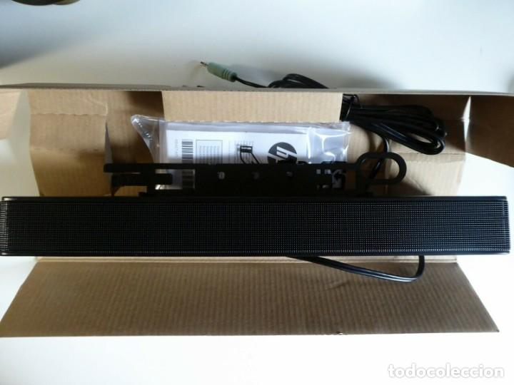 Radios antiguas: Barra Sonido Marca HP. LCD Speaker Sound Bar Brand HP Altavoz Altavoces Black - Foto 5 - 226136040