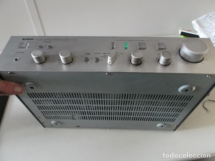 Radios antiguas: YAMAHA, AMPLIFICADOR, A 550, FUNCIONANDO, EXCELENTE, APARATO - Foto 21 - 221897656