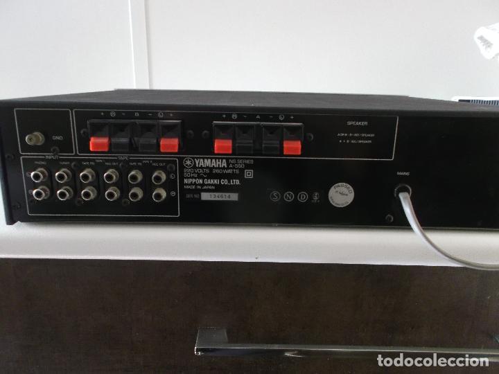 Radios antiguas: YAMAHA, AMPLIFICADOR, A 550, FUNCIONANDO, EXCELENTE, APARATO - Foto 22 - 221897656