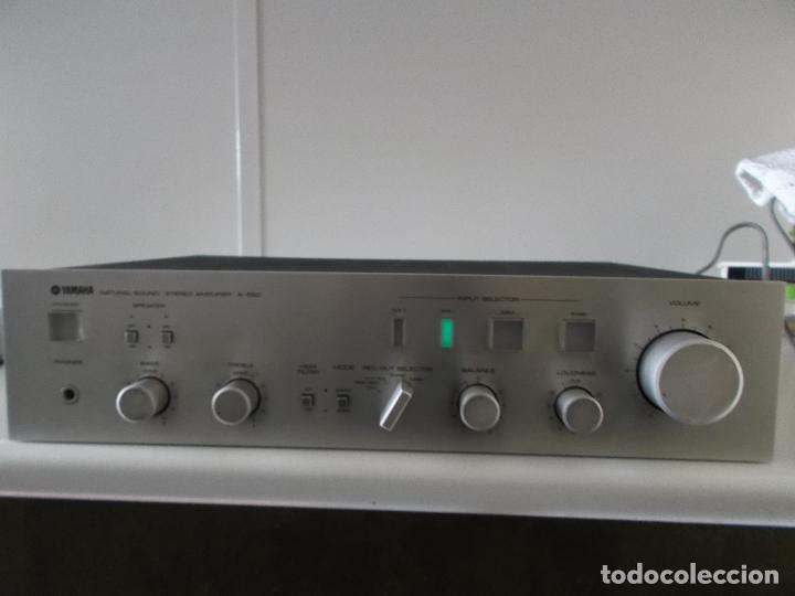 Radios antiguas: YAMAHA, AMPLIFICADOR, A 550, FUNCIONANDO, EXCELENTE, APARATO - Foto 27 - 221897656