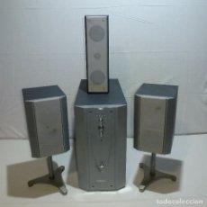 Radios antiguas: CONJUNTO DE ALTAVOCES Y SUBWOOFER.TOSHIBA MINI HOME THEATER MODELO HTSA29.. Lote 226678085