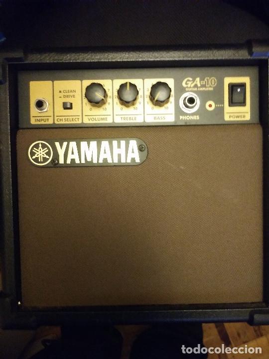 Radios antiguas: Amplificador Yamaha GA-10 - Foto 2 - 228812825