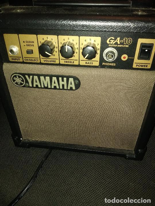 AMPLIFICADOR YAMAHA GA-10 (Radios, Gramófonos, Grabadoras y Otros - Amplificadores y Micrófonos de Válvulas)