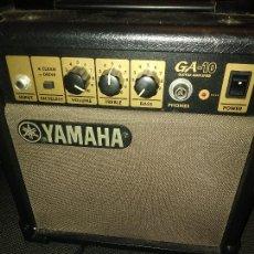 Radios antiguas: AMPLIFICADOR YAMAHA GA-10. Lote 228812825