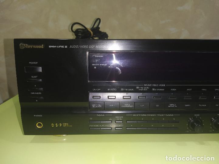 Radios antiguas: AMPLIFICADOR SHERWOOD RV-7050R, AMPLIFICADOR, EXCELENTE - Foto 4 - 230079340
