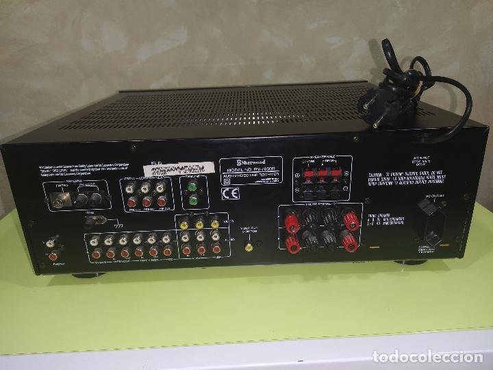 Radios antiguas: AMPLIFICADOR SHERWOOD RV-7050R, AMPLIFICADOR, EXCELENTE - Foto 5 - 230079340