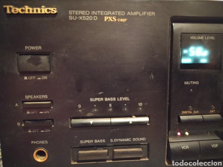 Radios antiguas: Amplificador Technics - Foto 2 - 231215670