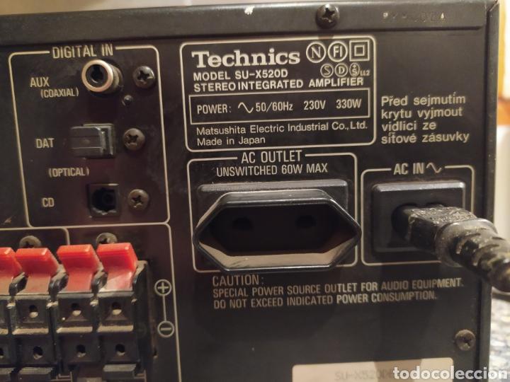 Radios antiguas: Amplificador Technics - Foto 4 - 231215670