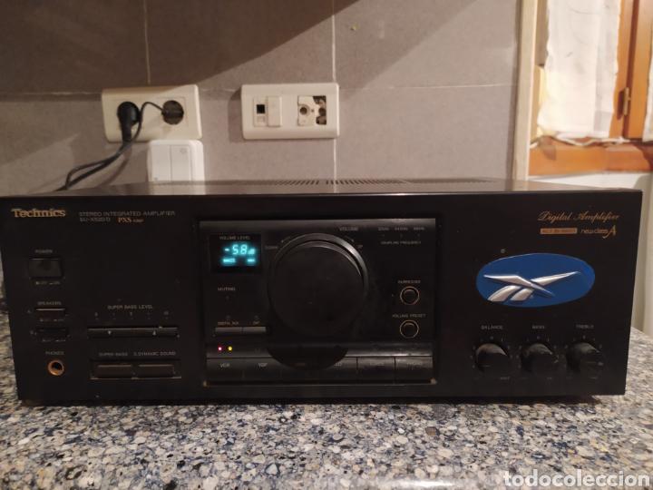AMPLIFICADOR TECHNICS (Radios, Gramófonos, Grabadoras y Otros - Amplificadores y Micrófonos de Válvulas)
