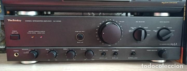 TECHNICS AMPLIFICADOR INTEGRADO SU-VX500 (Radios, Gramófonos, Grabadoras y Otros - Amplificadores y Micrófonos de Válvulas)