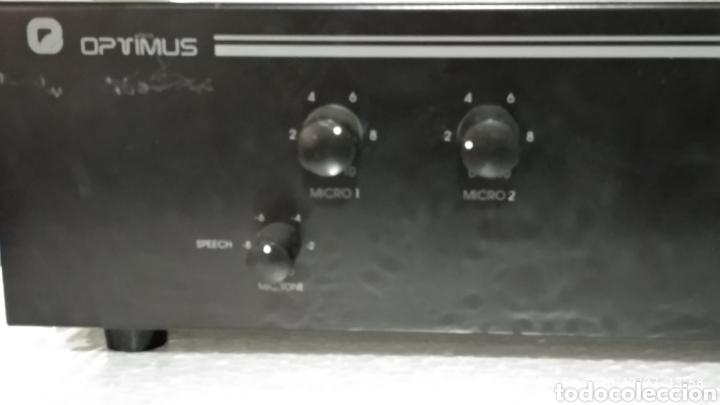 Radios antiguas: Amplificador Optimus axc-30 - Foto 10 - 226007167