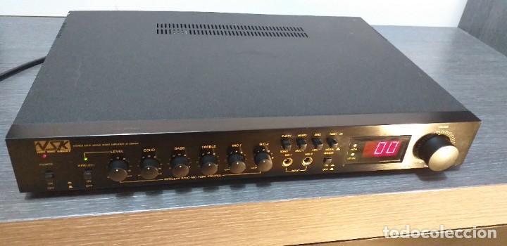 Radios antiguas: AMPLIFICADOR VSK. Modelo LD-100KGA. - Foto 2 - 232656478