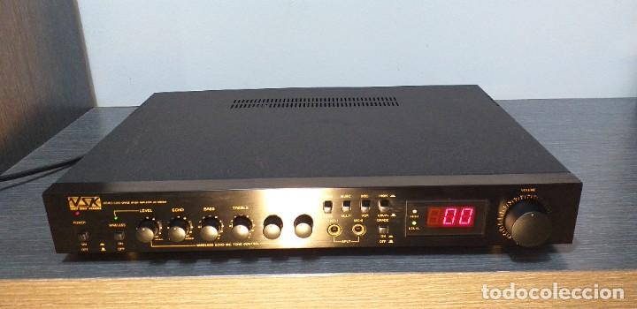 Radios antiguas: AMPLIFICADOR VSK. Modelo LD-100KGA. - Foto 5 - 232656478